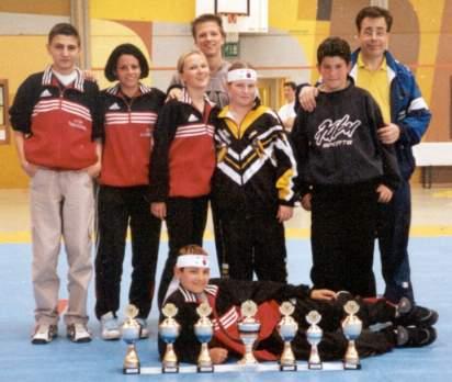 Badische Meisterschaften 2001 in Bretten