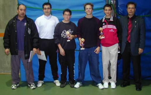 Erfolgreich bei den Baden-Württembergischen Meisterschaften 2001!