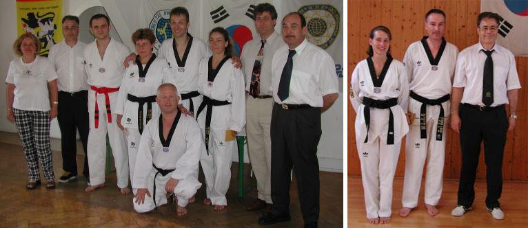 Unsere Dan-Absolventen im Frühjahr 2002