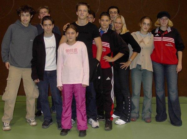 Erfolgreich bei den Baden-Württembergischen Meisterschaften 2002!