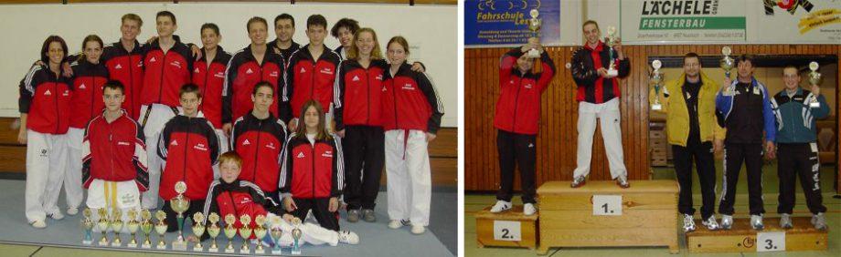 Taekwondo Verein Pfinztal bei der Badischen Meisterschaft in Top-Form