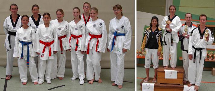 Taekwondo-Verein Pfinztal bei der Badischen Formenmeisterschaft zum ersten Mal Mannschaftsmeister