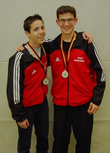 Silber und Bronze bei der Deutschen Jugendmeisterschaft 2003
