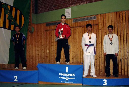Julian Akich deutscher Jugendmeister 2005