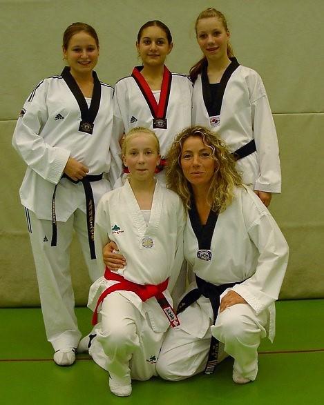 Der Taekwondo-Verein Pfinztal – bei der Baden-Württembergischen Technikmeisterschaft vorne mit dabei.