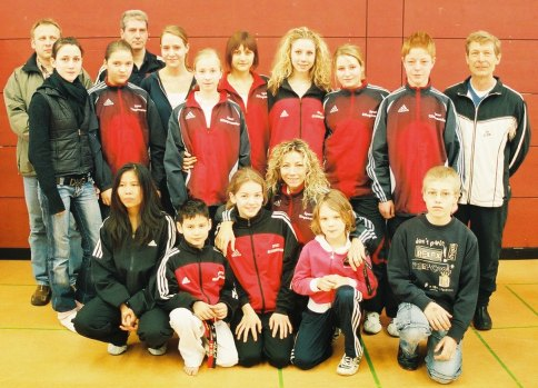 Badischer Mannschaftsmeister 2007 wurde der TKD Verein Pfinztal e.V.