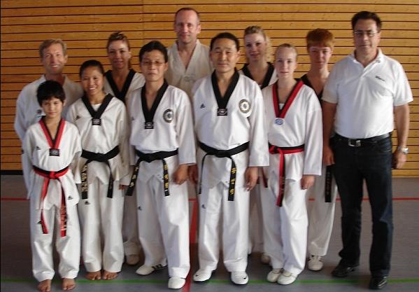 Poomsae Seminar mit Meister Kang und Meister Wang in Esslingen