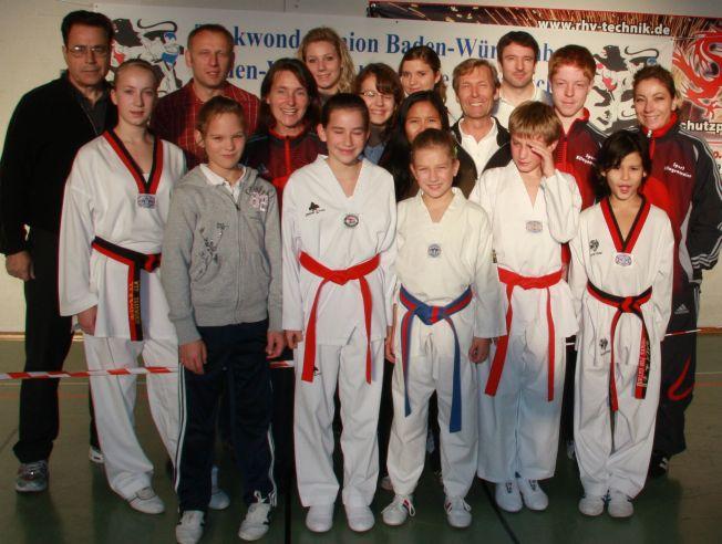 Der Taekwondo Verein Pfinztal e.V. wieder erfolgreich bei der Baden-Württembergischen Technikmeisterschaft in Waiblingen.
