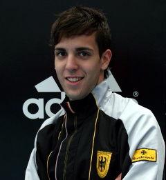 Gold für Julian Akich bei der German Open 2009 in Hamburg