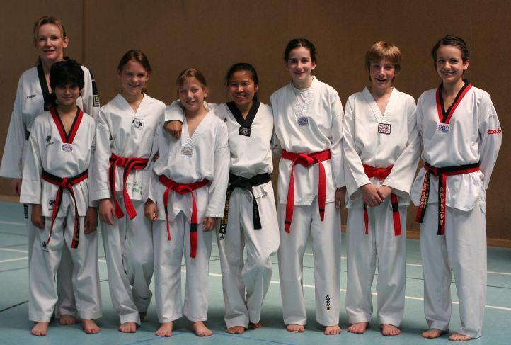 Unsere Dan-Absolventen im Juli 2010