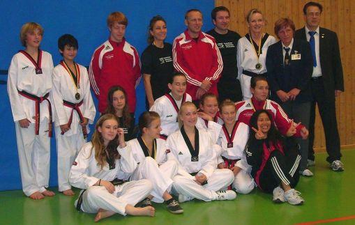Großer Erfolg bei den Poomsae-Landesmeisterschaften 2010