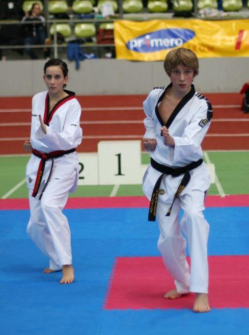 TKD-Pfinztal startet beim Parkpokal 2011 für den Landesverband
