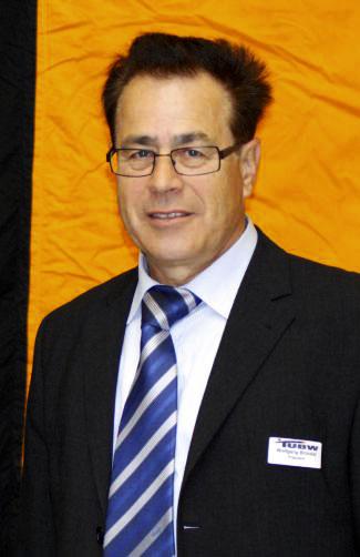Wolfgang Brückel zum TUBW-Präsidenten wiedergewählt