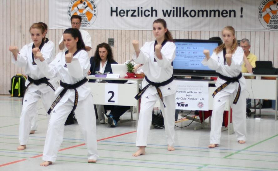 Badische Meisterschaften Poomsae 2012