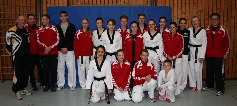 Wieder Mannschaftsmeister bei den Badischen Poomsae Meisterschaften 2013!