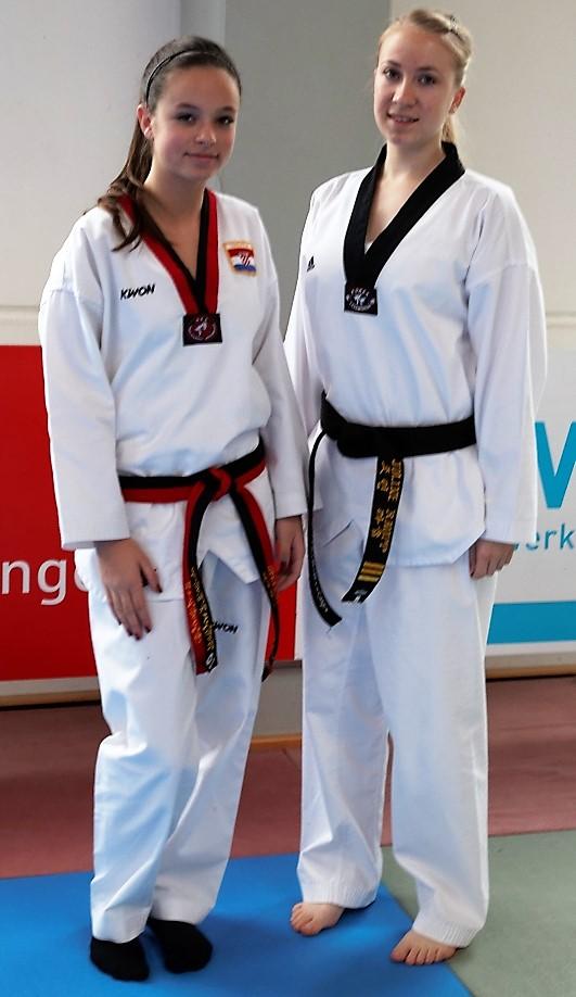 Taekwondo Pfinztal stellt zwei Mitglieder des TUBW-Poomse Kaders