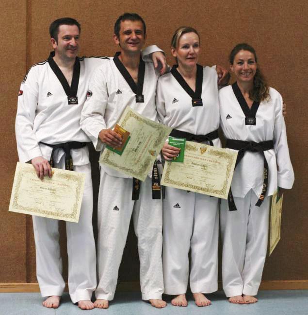 4 x 4, neuer Rekord bei Taekwondo Pfinztal!