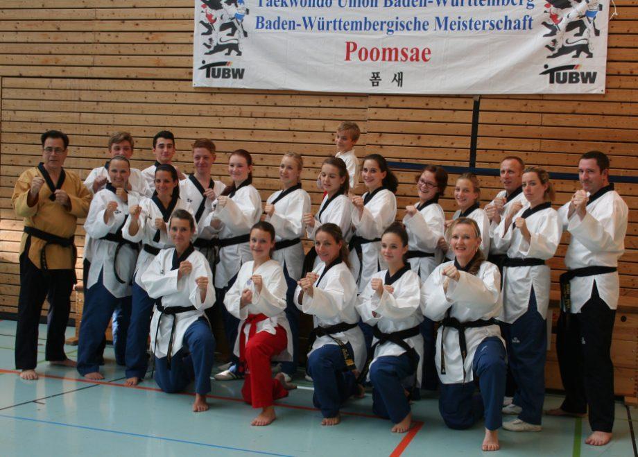 Baden-Württembergische Poomsae-Meisterschaften 2013 in Wernau am Neckar