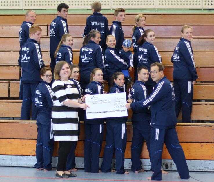 BBBank unterstützt Taekwondo-Verein Pfinztal