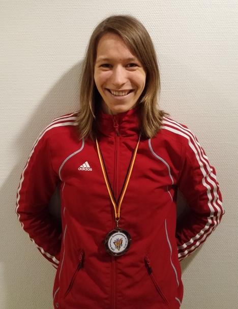 Jessica Gromer Dritte bei den Deutschen Senioren Meisterschaften 2015