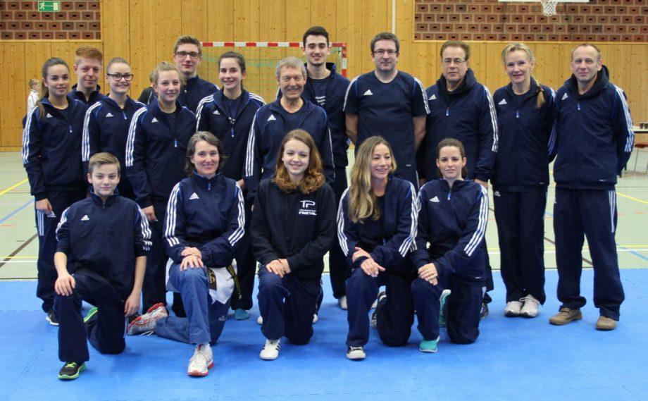Taekwondo Pfinztal räumt bei den Badischen Poomsae-Meisterschaften 2016 in Heidelberg ab