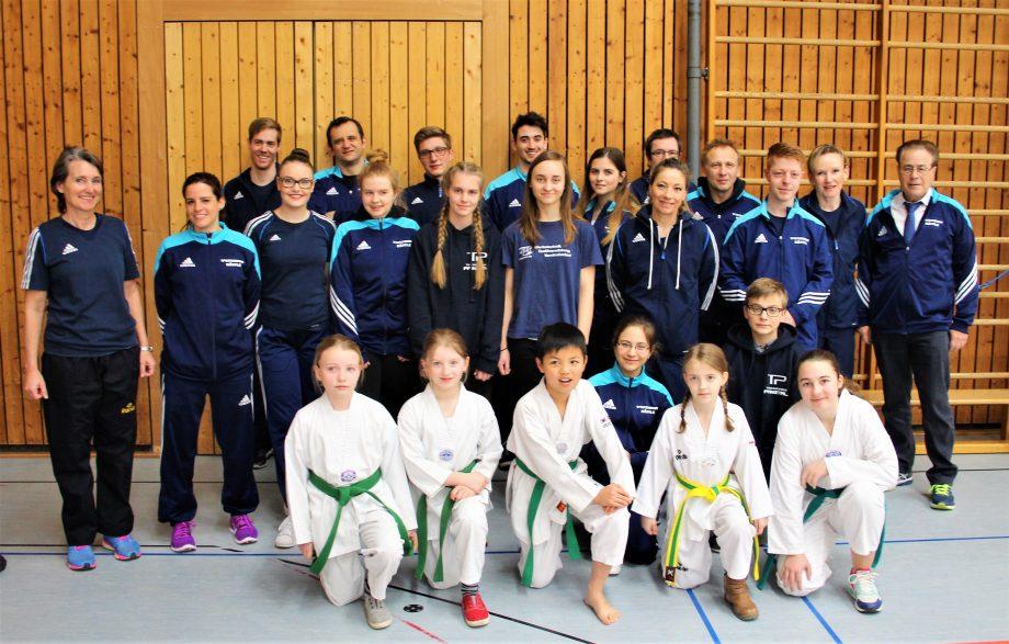 Badische Meisterschaften 2017 – Erfolgsserie des Taekwondo Pfinztal setzt sich fort!