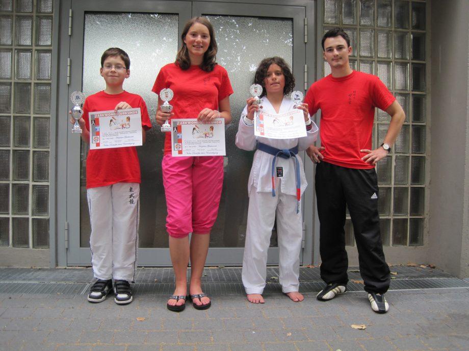 Nachwuchskämpfer aus Pfinztal feiern erste Erfolge