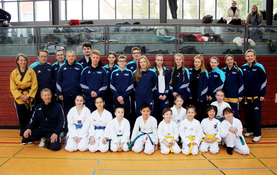 Badische Meisterschaften in Wiesloch –Taekwondo Pfinztal auf der Erfolgsspur