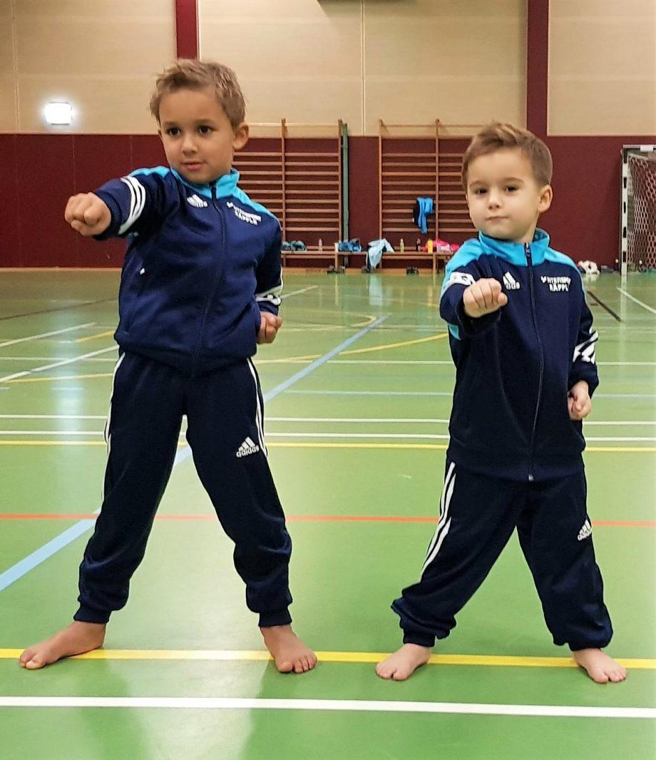 Neuer Bambini-Kurs beim Taekwondo Pfinztal